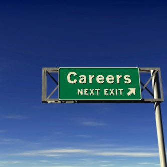 Careers Freeway Exit Sign