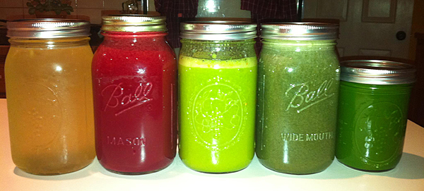 Juices for Juice Fasting